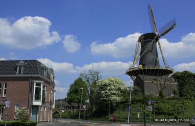 Molen de Windhond in Woerden.