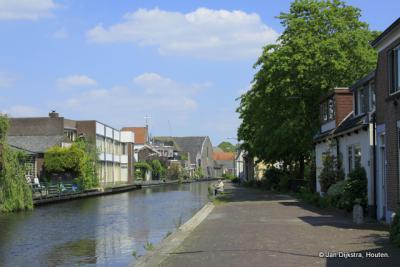 Op het Rijnpad in Woerden.