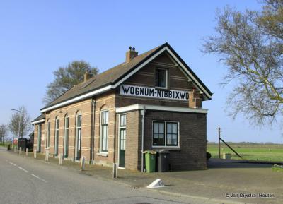 Wognum, station
