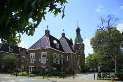 Het gemeentehuis van Woudenberg
