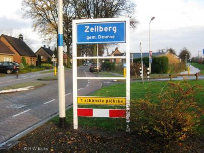 Veel dorpen die door een naastgelegen stad of dorp zijn 'opgeslokt', worden door de inwoners nog altijd als dorp beschouwd en beleefd. Zoals Zeilberg bij/in Deurne, dat als erkenning hiervan in 2009 weer blauwe plaatsnaamborden (komborden) heeft gekregen.