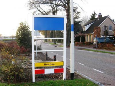 Zeilberg, achterzijde kombordportaal.