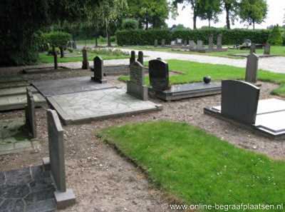 Zennewijnen heeft geen kerk, maar wel een eigen begraafplaats, die nog een restant is van het klooster dat hier ooit stond