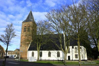 Het mooie kerkje van Zoelmond.