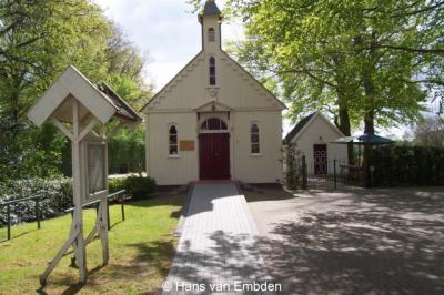 Zorgvlied, de houten kapel uit 1904 van Evangelisatievereniging Obadja is een rijksmonument
