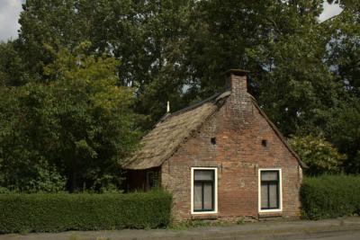 Een wâldhúske in De Westereen.