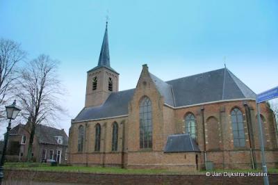 De Hervormde kerk van Zwammerdam.