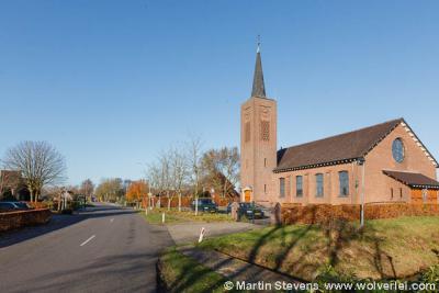 Zwartebroek, de Hervormde kerk uit 1958