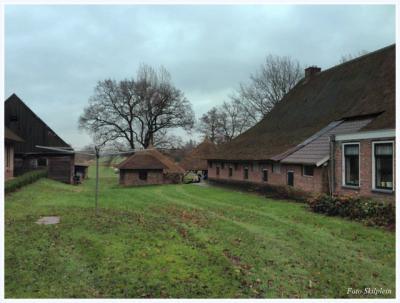 Boerderij in Zwartewatersklooster. Met dank aan de heer Skilplein voor de foto's.