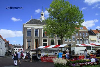 Het is markt in Zaltbommel