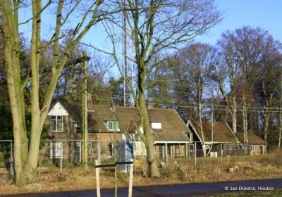 Het Oude station gezien vanaf de A12.
