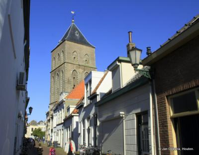 In de Kerkstraat in Kampen.
