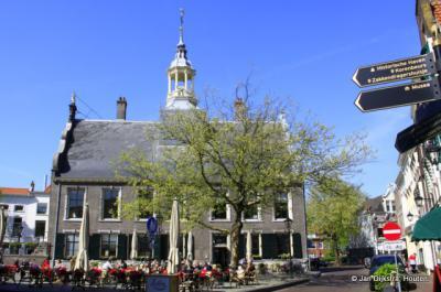 Het oude gemeentehuis van Schiedam