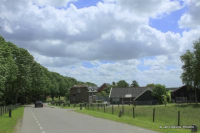 De kleine buurtschap Gemaal, gelegen aan de Hoofdweg