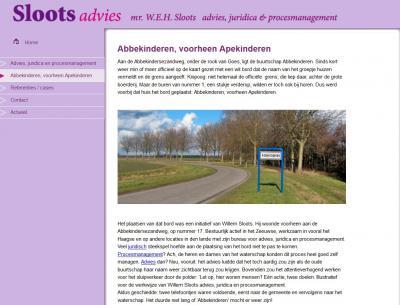"""Mr. Willem Sloots, voorheen woonachtig in buurtschap Abbekinderen, vertelt op zijn site hoe het zo gekomen is dat deze buurtschap sinds 2011 plaatsnaambordjes heeft. Wat ons betreft een gevalletje """"goed voorbeeld doet goed volgen""""!"""