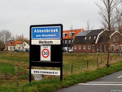 Abbenbroek is een dorp in de provincie Zuid-Holland, in de streek Voorne-Putten, gemeente Nissewaard. Het was een zelfstandige gemeente t/m 1979. In 1980 over naar gemeente Bernisse, in 2015 over naar gemeente Nissewaard.