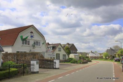Achterberg, een landelijk dorp, maar toch ook met een flinke dorpskom