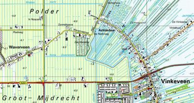 De volgende surprise komt in de jaren veertig, als de oude buurtschap Achterbos van de kaart verdwijnt, kennelijk afgebroken. Het huidige Achterbos is dus het oude Proostdij en het oude Achterbos is afgebroken. Het was even puzzelen, maar we zijn eruit...