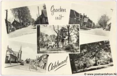 Achtmaal Dorpsgezichten 1957