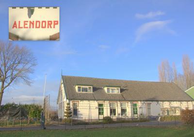 De huidige boerderij Alendorp ligt op de vermoedelijke plaats van de gelijknamige middeleeuwse hofstede (© Jan Dijkstra, Houten)