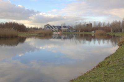 Bij de aanleg van het Máximapark op de vroegere tuindersgronden van Alendorp is door uitgraving een deel van de vroegere Rijn weer zichtbaar gemaakt. Hieraan is de naam Vikingrijn gegeven. (© Jan Dijkstra, Houten)