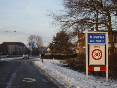 Alverna is een dorp in de provincie Gelderland, in de streek Rijk van Nijmegen, gemeente Wijchen. (© H.W. Fluks)