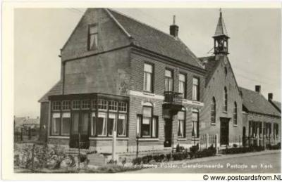 Anna Jacobapolder Gereformeerde kerk en pastorie