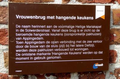 Waarom de 'hangende keukens' van Appingedam zo beroemd zijn, kun je hier lezen (© Jan Oosterboer)