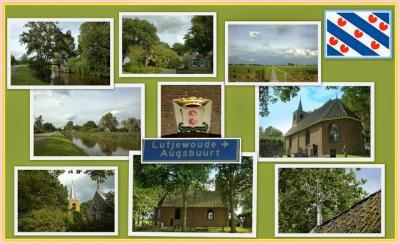 Augsbuurt, collage van dorpsgezichten (© Jan Dijkstra, Houten)