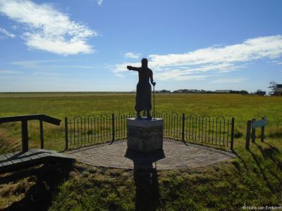 Baaiduinen, standbeeld van het Stryper Wyfke