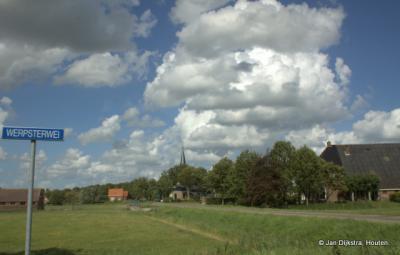 Baaium gezien vanaf de Werpsterdyk.