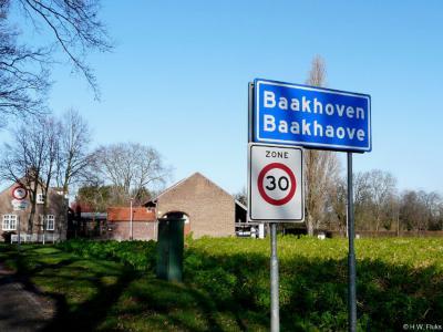 Baakhoven is een buurtschap in de provincie Limburg, in de streek Midden-Limburg, gemeente Echt-Susteren. T/m 2002 gemeente Susteren.
