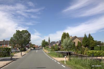 Baambrugse Zuwe op een mooie dag begin juni, het is er nu nog rustig