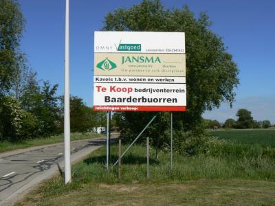 De firma Jansma uit Drachten heeft bedrijventerrein Baarderbuorren ontwikkeld (© www.jansma.biz)