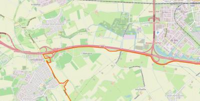 De buurtschap Baarsdorp ligt rond de gelijknamige weg, NO van Heinkenszand, ZO van 's-Heer Arendskerke, NW van 's-Heer Abtskerke, ZW van Goes, en grenst in het N aan de A58.