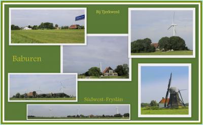 Baburen, collage van buurtschapsgezichten (© Jan Dijkstra, Houten)