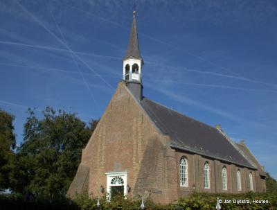 """De Hervormde kerk van Bayloniënbroek en tevens verenigingsgebouw """"De Korenschoof"""""""