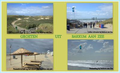 En als je deze foto's ziet, begrijp je waarom Bakkum aan Zee ook vandaag de dag nog altijd een populaire badplaats is, en Amsterdammers in de rij staan voor een plekje op Camping Bakkum. (© Jan Dijkstra, Houten)