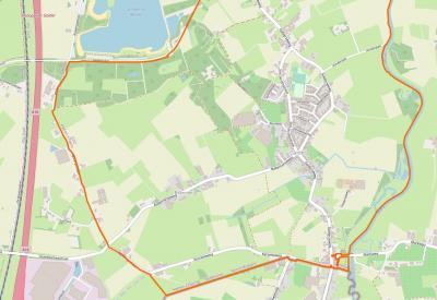 Buurtschap Balleman ligt WZW van het dorp Galder. (© www.openstreetmap.org)
