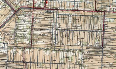 Het Barger-Oosterveen was een uitgestrekt veenontginningsgebied dat pas in de eerste helft van de 20e eeuw is ontgonnen. Het gebied was verdeeld in een aantal blokken. Rond de kern van de huidige buurtschap lagen de blokken 6 t/m 10 (kaart 1940).