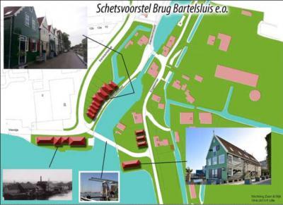 Ook Stichting Zaan & Dijk zet zich in voor de leefbaarheid in buurtschap Bartelsluis. In 2015 lanceert zij het voorstel voor een nieuwe ophaalbrug aan de Z kant van de buurtschap. In 2018 is dat gerealiseerd.