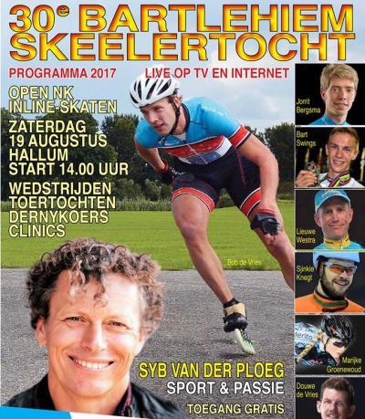 De Bartlehiem Skeelertocht is er al sinds 1968. In 2017 was de extra feestelijke 30e editie.