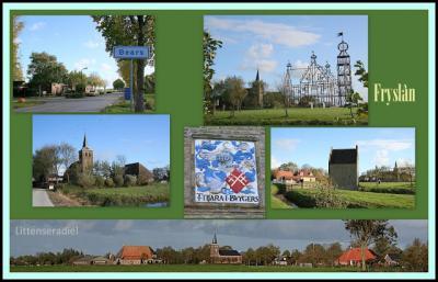 Bears, collage van dorpsgezichten (© Jan Dijkstra, Houten)