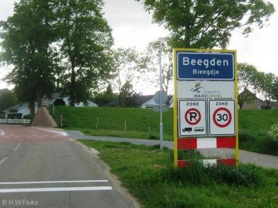 Beegden is een dorp in de provincie Limburg, in de streek Midden-Limburg, gemeente Maasgouw. Het was een zelfstandige gemeente t/m 1990. In 1991 over naar gemeente Heel, in 2007 over naar gemeente Maasgouw.