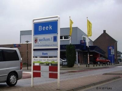 Beek is een dorp en gemeente in de provincie Limburg, in de regio Westelijke Mijnstreek.