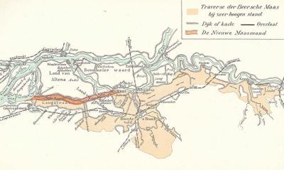 Tot in de jaren dertig van de 20e eeuw liet men bij hoogwater van de Maas de rivier 'gecontroleerd overstromen' middels de Beerse Overlaat bij Beers. Het water stroomde dan 40 km lang richting Den Bosch, waar het via de Dieze weer in de Maas uitkwam.