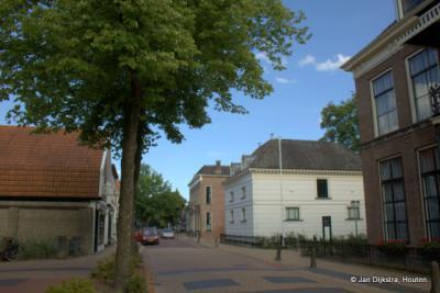 Statige huizen aan de Hoofdstraat in Beetsterzwaag