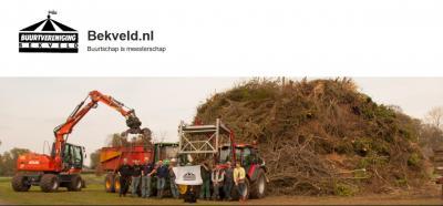 Het moge duidelijk zijn dat de redactie van buurtschappenspecialist Plaatsengids.nl zich helemaal in de slogan van buurtschap Bekveld kan vinden!