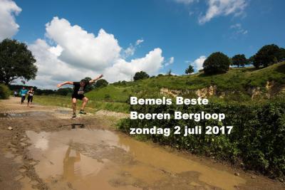 In Bemelen zijn ze niet alleen muzikaal maar ook nog sportief; zo is er begin juli de Bemels Beste Boeren Bergloop over 7,5 of 15 km. Dat is vast afzien over de Bemelerberg... Maar na de klim mag je ook weer naar beneden en dat is iets makkelijker. :-)
