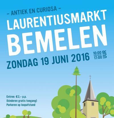 Een van de jaarlijkse evenementen in Bemelen is de Laurentiusmarkt, op de voorlaatste zondag van juni.